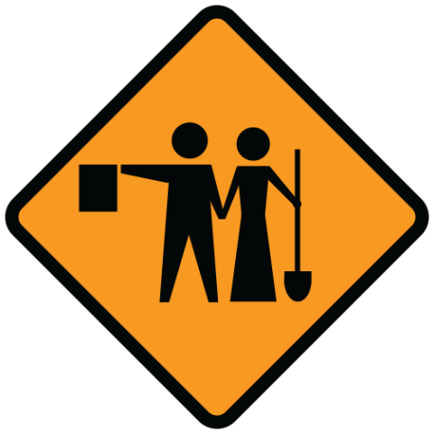 Work sign